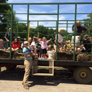 CSA hayride and farm tour