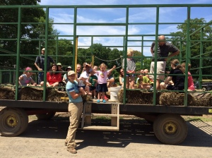 CSA hayride and farm tour