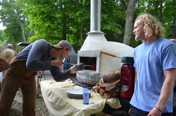 gennaro and wyatt pizza oven