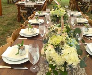 justin chloe wedding table closeup