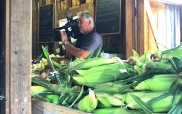carl shooting in the farmstand