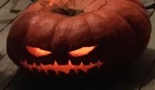 evil cinderella jack o lantern