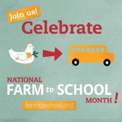 farm to school month logo