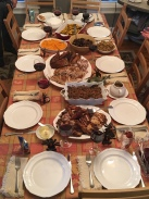 thanksgiving table 2017
