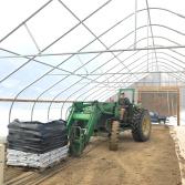 sam tractor potting soil greenhouse spring