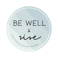 be well and rise logo
