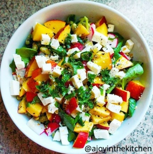 ajoyinthekitchen summer salad-2